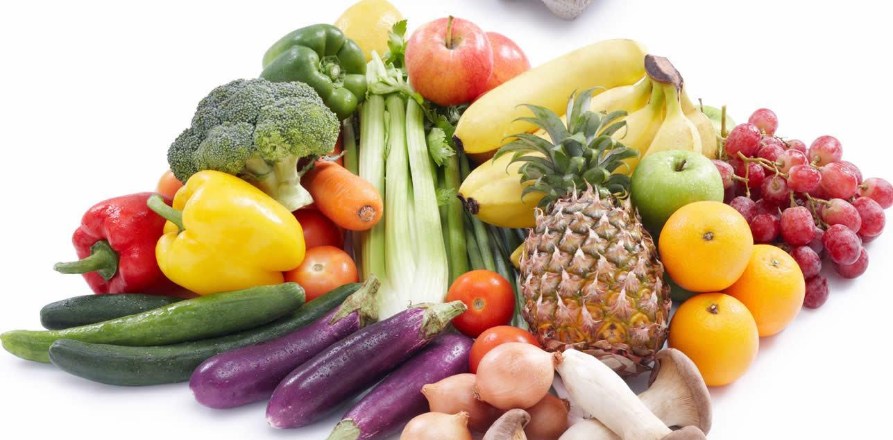 Frutas, Legumes e vegetais