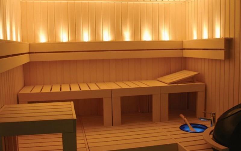 Como ocupar o tempo na sauna?
