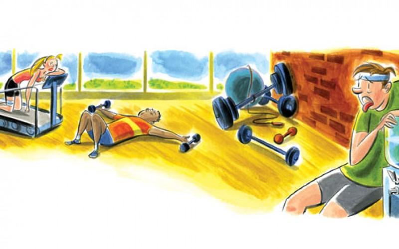 Os Erros que cometemos com a Saúde e o Fitness