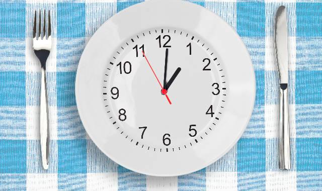 Relógio das refeições