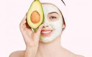 máscara de abacate