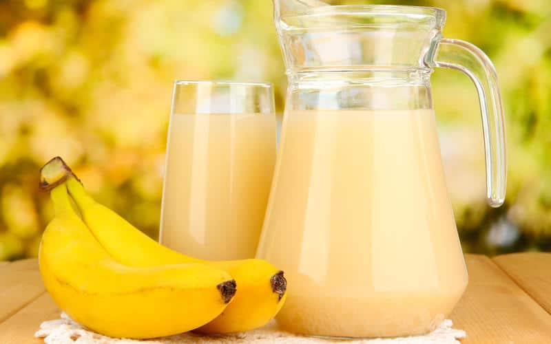 batido de bananaa
