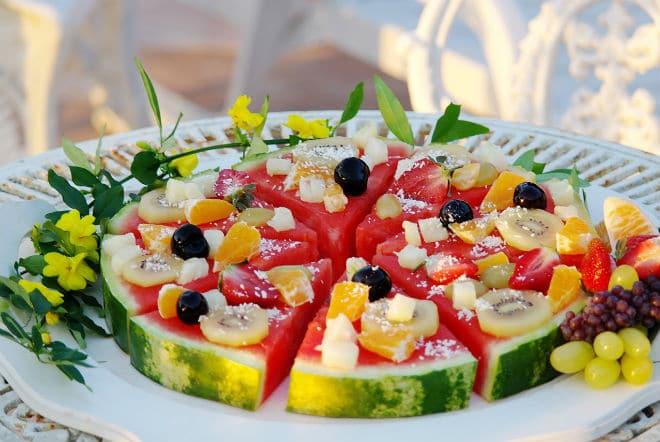 receitas saudáveis com frutas
