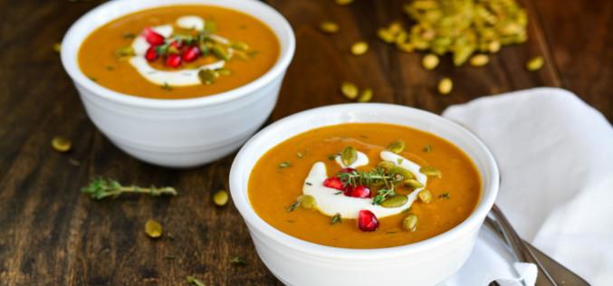 3 sopas para o outono com baixo teor de carboidrato