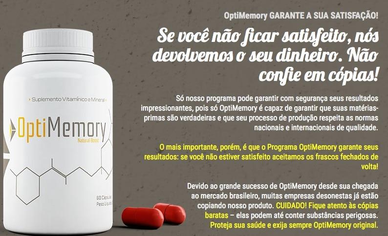 optimemory-garantia
