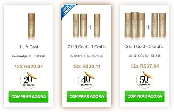 lift gold compra agora